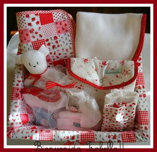 Acurrucaditos (Bebés Y Chicos):        Canasto Para Nacimiento