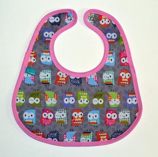 Acurrucaditos (Bebés Y Chicos):        Baberos De Tela Impermeable Nenas