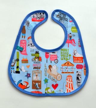 Acurrucaditos (Bebés Y Chicos):        Baberos De Tela Impermeable Varones