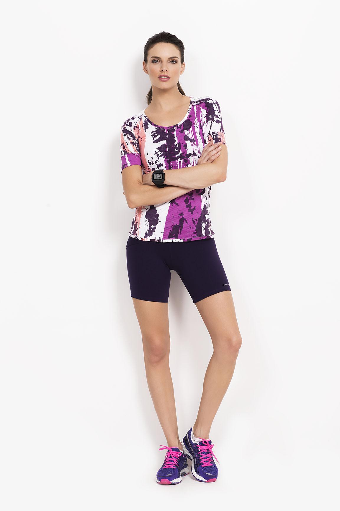 Admit One (Deportes Y Fitness):        Remera Mesh Indra M/C   Ciclista Su Krum