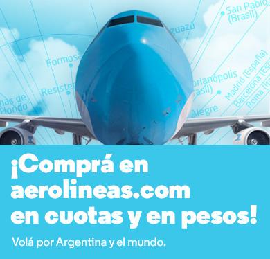 Aerolíneas Argentinas (Viajes Y Turismo):        Comprá En Cuotas