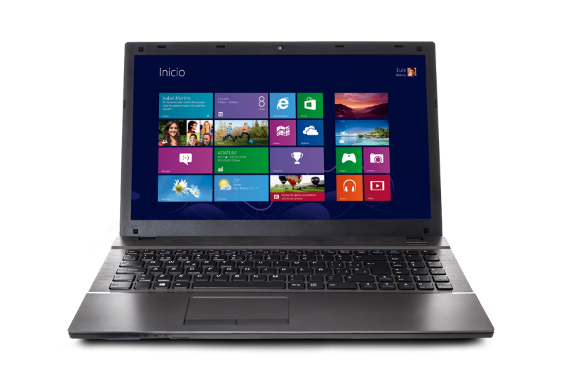 Armytech Hardware (Computación):        Notebook Bangho Max 1500 L7 518 | Intel Core I7 | 8gb | 1tb | 15,6 | Win 8