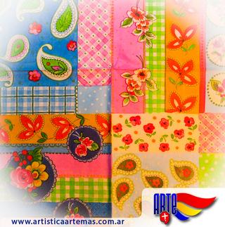 Artística Arte Más (Art. De Librería / Oficina):        Servilleta Decoupage X 5 Unid Cod:02