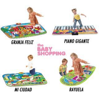 Baby Shopping (Bebés Y Chicos):        Alfombras Didacticas Y Musicales Para Chicos + 3 Años. Todas