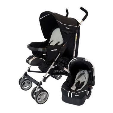 Babynet (Bebés Y Chicos):        Babynet Coche Paragua Avanti Con Huevito Y Base ( Avenue )