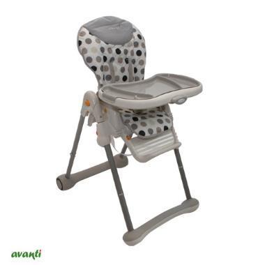Babynet (Bebés Y Chicos):        Babynet Silla Comer Bebé Y Portasilla Avanti ( Rocking )