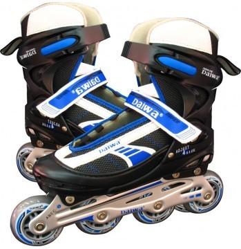 Bicimundo Gym & Fitness (Deportes Y Fitness):        Patin Roller Daiwa Semiprof. Azul