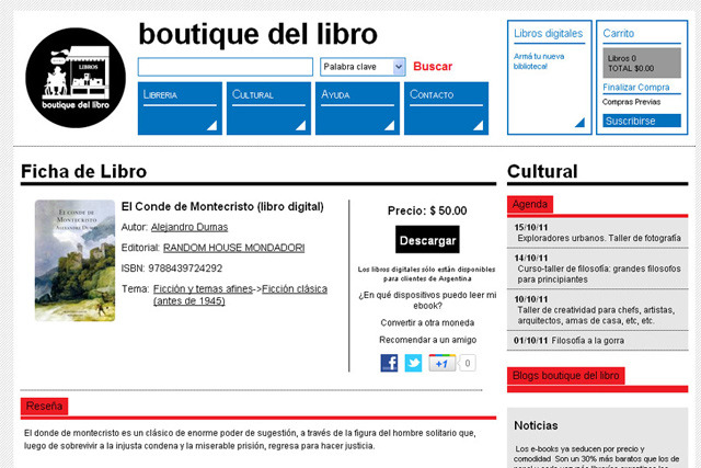 Boutique Del Libro (Libros Y Revistas):        02 Fichalibro Boutique