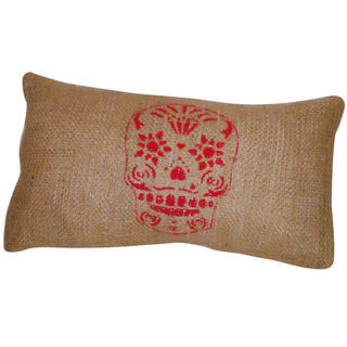 By Dmm (Decoración, Bazar & Hogar):        Almohadón Skull