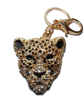 By Heart Bijouterie (Accesorios De Moda Y Bijou):        Llavero Tigre Strass
