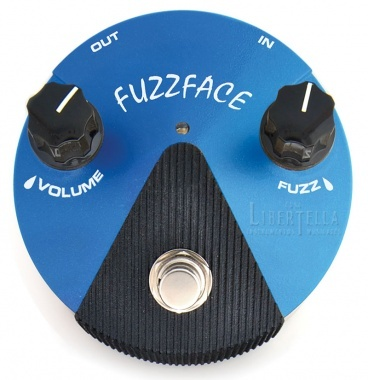 Casa Libertella (Instrumentos Musicales):        Pedal Jim Dunlop Ffm1 Silicon Fuzz Face Mini Distortion