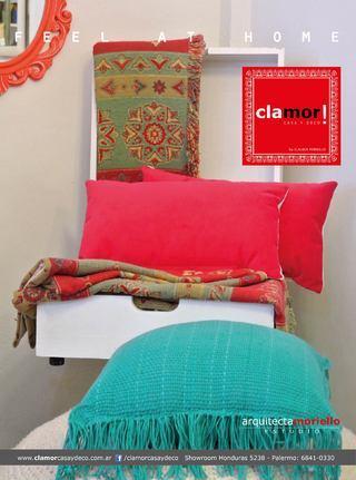 Clamor! Casa Y Deco (Decoración, Bazar & Hogar):        Almohadón Con Flecos