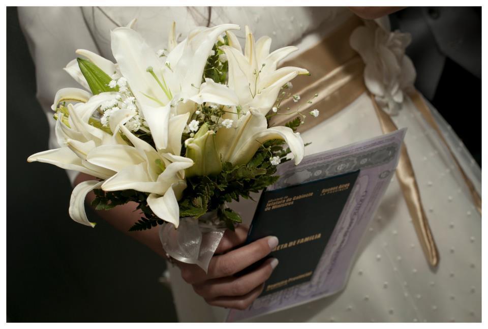 Colección De Flores (Regalos Y Objetos De Diseño):        Ramo De Novia   Liliums Perfumados
