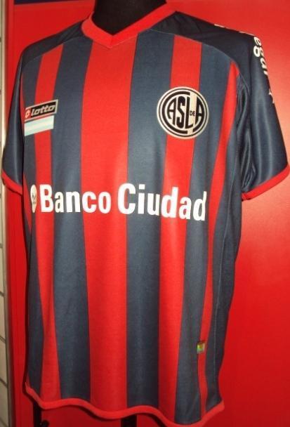 Cuervo Mania (Merchandising):        Camiseta Oficial Titular  2014 Banco Ciudad
