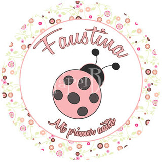Cute And Paper Boutique (Fiestas Y Cotillón):        Stickers Ladybug