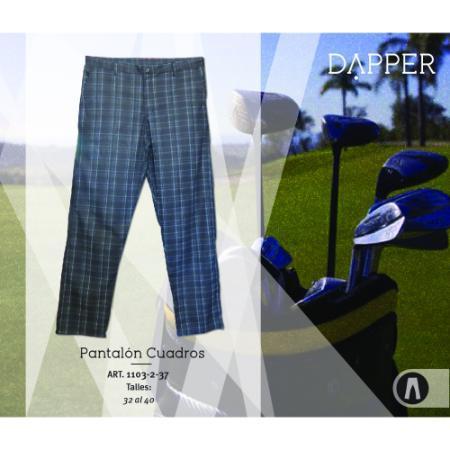 Dapper Golf (Deportes Y Fitness):        Pantalon Cuadros