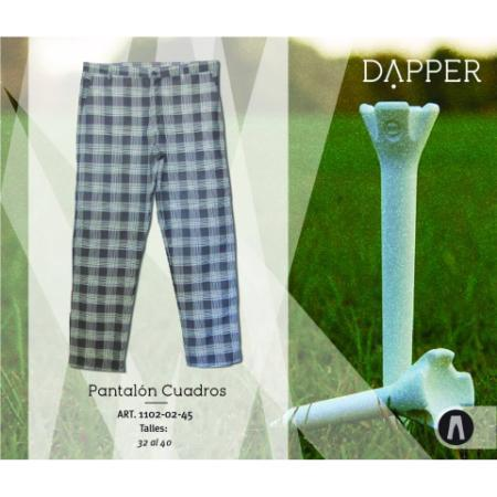 Dapper Golf (Deportes Y Fitness):        Pantalón Cuadros