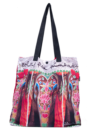 Dbaires (Carteras Y Bolsos):        Tote Bag Elephant