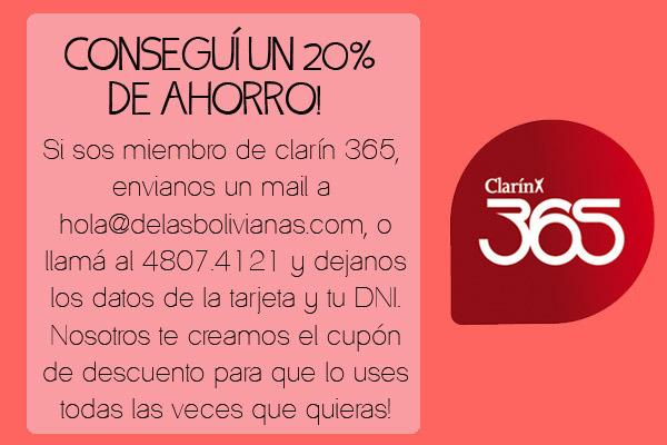 De Las Bolivianas (Accesorios De Moda Y Bijou):        Clarín 365