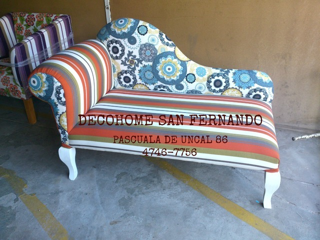 Deco Home San Fernando (Decoración, Bazar & Hogar):        Sillon Chaise Longue 1.20