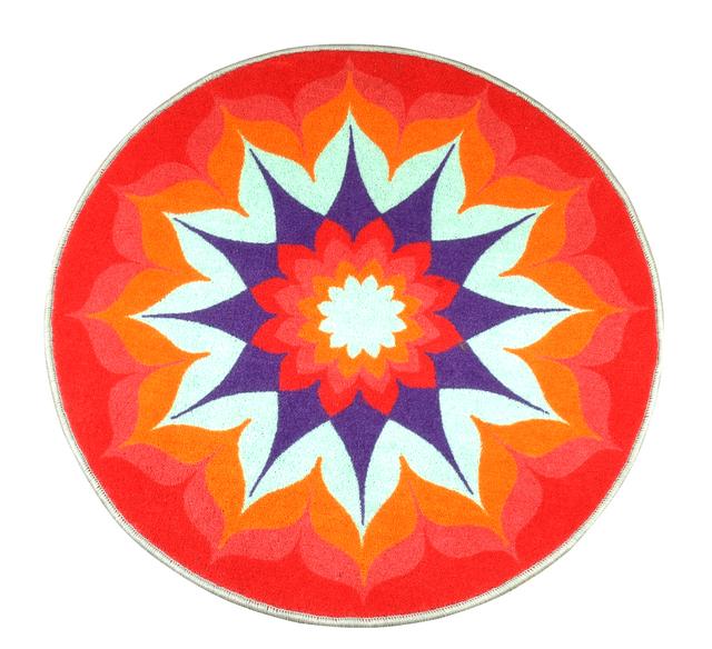 Design Carpets Alfombras (Decoración, Bazar & Hogar):        Alfombra Mandala