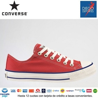Diego Deportes (Deportes Y Fitness):        Chuck Taylor Ox Red 135984 B