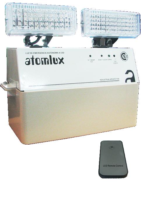 E Atomlux (Electro Y Tecnología):        Luz De Emergencia Faros Led Atomlux 8091