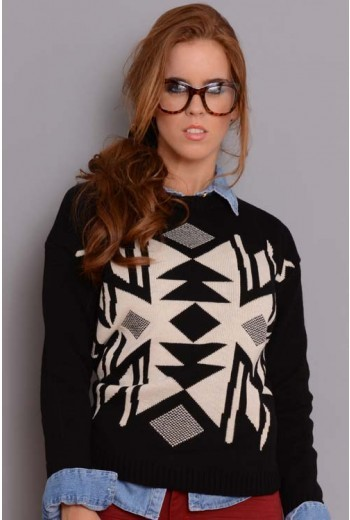 El Secreto De Mi Look (Indumentaria):        Sweater Etnico