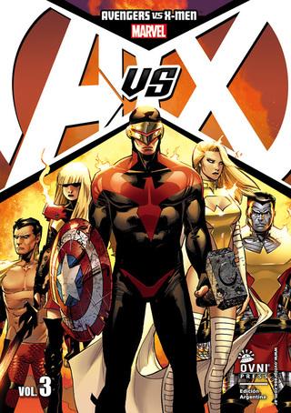 Elektra Comics (Libros Y Revistas):        Avs X Vol. 03 Tomo