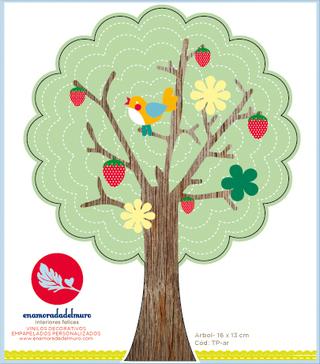 Enamorada Del Muro (Decoración, Bazar & Hogar):        árbol Enchufe
