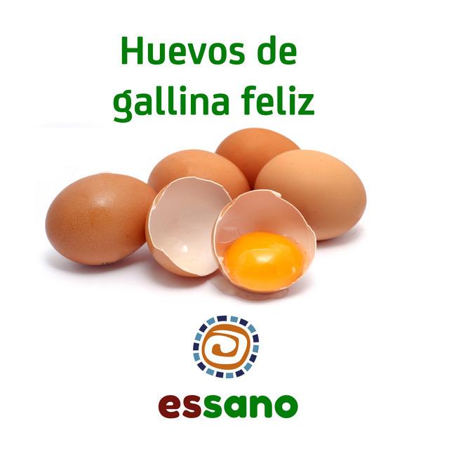Es Orgánico (Comidas Y Alimentos):        Huevos De Gallina Feliz   Una Docena