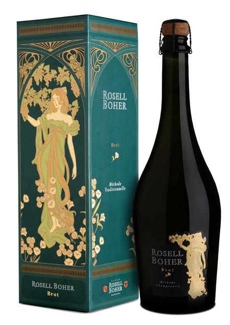 Espacio Vino (Vinos Y Bebidas):        Regalo Estuche Rosell Boher Brut