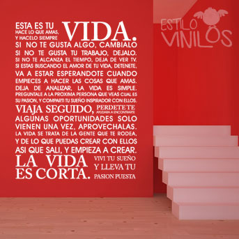 Estilo Vinilos (Decoración, Bazar & Hogar):        Frases Más Pedidas En El 2013!