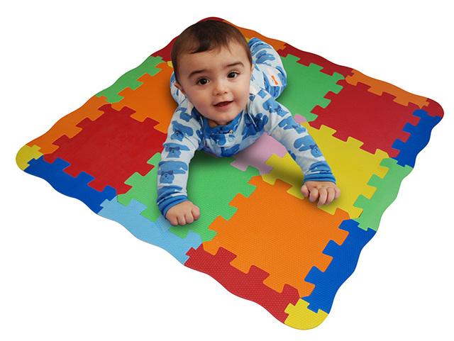 Eva Magic (Bebés Y Chicos):        Set Pisos Goma Eva, Espacios Pequeños 100x100cm = 1m2