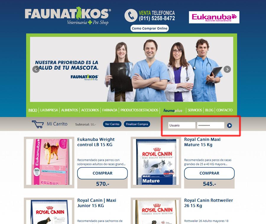 Faunatikos (Mascotas):        1 Usuario