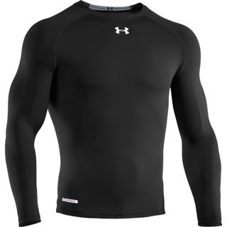 Fly Half Rugby (Deportes Y Fitness):        Remera Manga Larga Under Armour 'hg Sonic Compression Ls T Negra