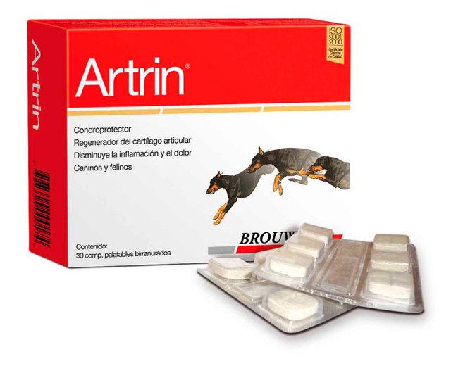 Foyel (Mascotas):        Artrin Comprimidos   Condoprotector   Regenerador Del Cartilago