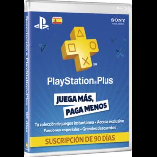 Gamebots (Videojuegos Y Consolas):        Código Prepago Playstation Plus EspaÑa 3 Meses