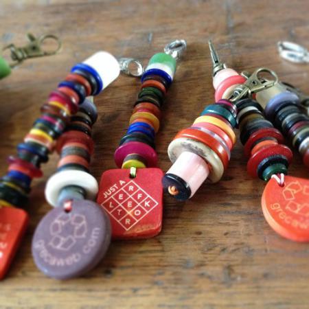 Greca Store (Decoración, Bazar & Hogar):        Llaveros Pack X 5 Unidades