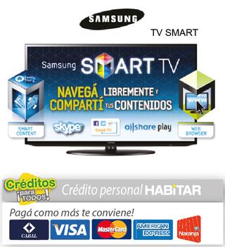 Habitar (Electro Y Tecnología):        Tv Samsung Led 46