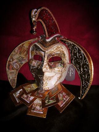 Harlequin (Arte):        Joker Tarot
