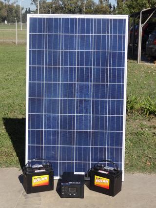Hissuma Materiales (Construcción):        Kit Solar Para Abastecer Energía Eléctrica Ininterrumpida En Comercios