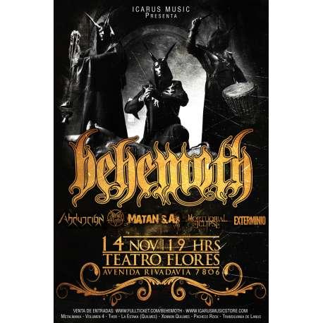Icarus Music Store (Peliculas Y Música):        Behemoth En Argentina