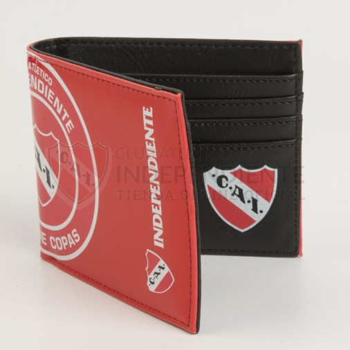Independiente | Tienda Online (Merchandising):        Billetera Independiente Roja