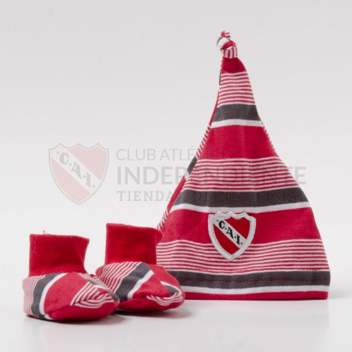 Independiente | Tienda Online (Merchandising):        Set De Gorro Con Escarpin