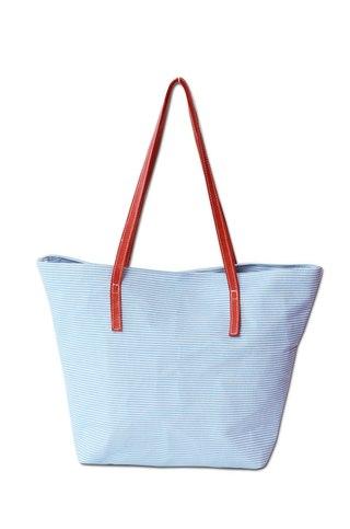 Jamsa Handbags (Carteras Y Bolsos):        Bolso Carmelo Rayas Y Tiras Rojas