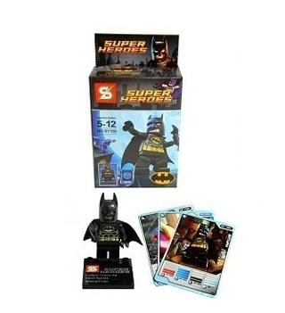 Juguetería Palermo (Jugueterias):        Simil Lego Batman + Cartas Gran Calidad Oferta