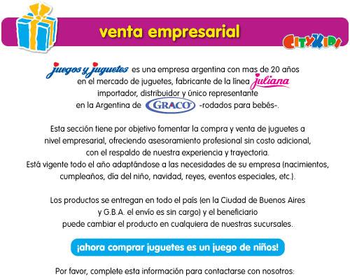 Jugueterías City Kids (Jugueterias):        Venta Empresarial