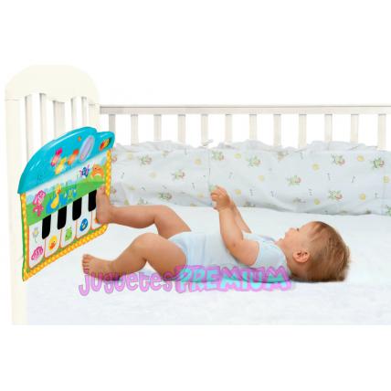 Juguetes Premium (Jugueterias):        Piano Para Cuna Con Luz Y Sonido