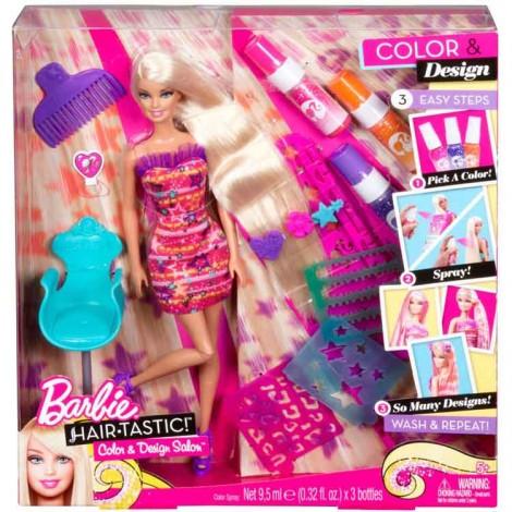 Kinderland (Jugueterias):        Barbie Salón De Colores Y Diseños X2345